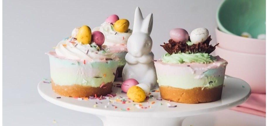Mini Tartas De Pascua De Queso