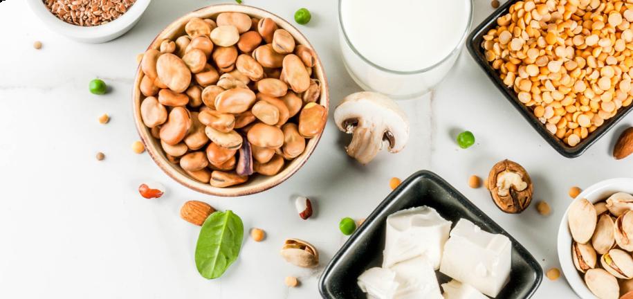 4 mejores alimentos veganos ricos en proteínas y bajos en carbohidratos