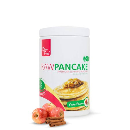 RawPanqueque Canela y Manzana