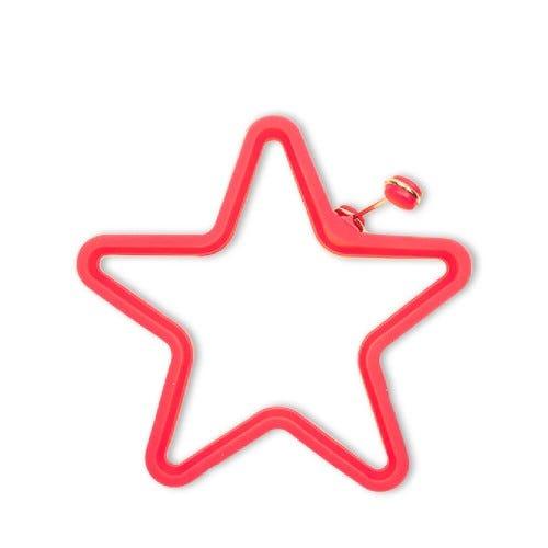 Molde de Silicona Estrella